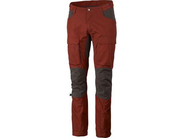 Lundhags Authentic II Pantalones Hombre, rust/tea green
